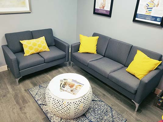 Chiropractic Simi Valley CA Reception Area Seating