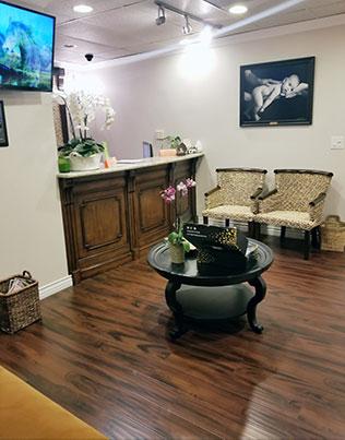 Chiropractic Los Angeles CA Reception Area