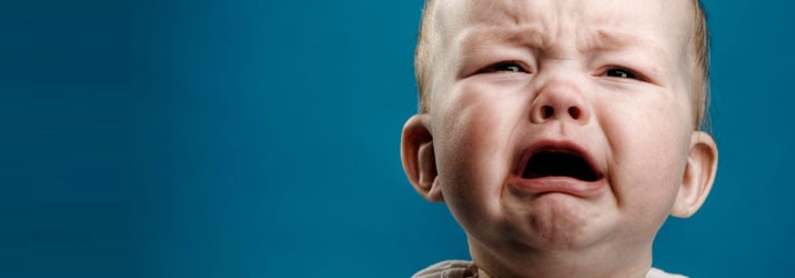 Infant Struggling With Colic