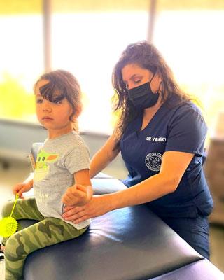 Chiropractic Los Angeles CA Patient Adjustment