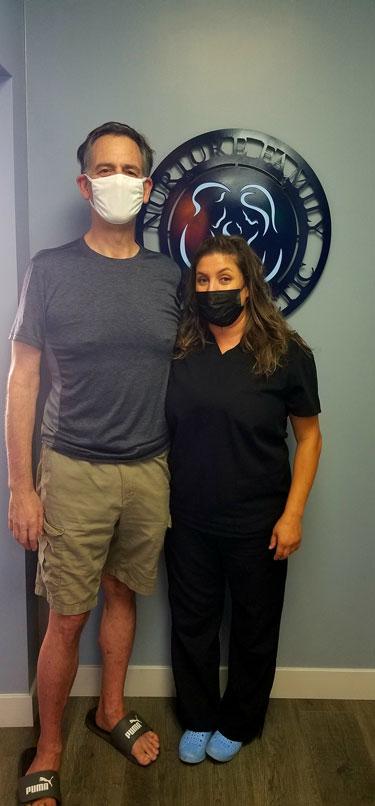 Chiropractor Los Angeles Heather Valinsky With Patient